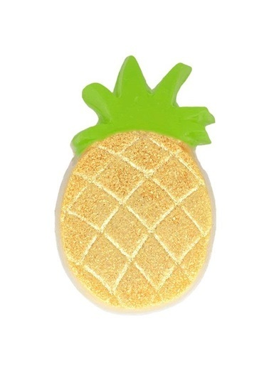 Bomb Cosmetics Pineapple Crown Sabun Dilimi 110g Renkli